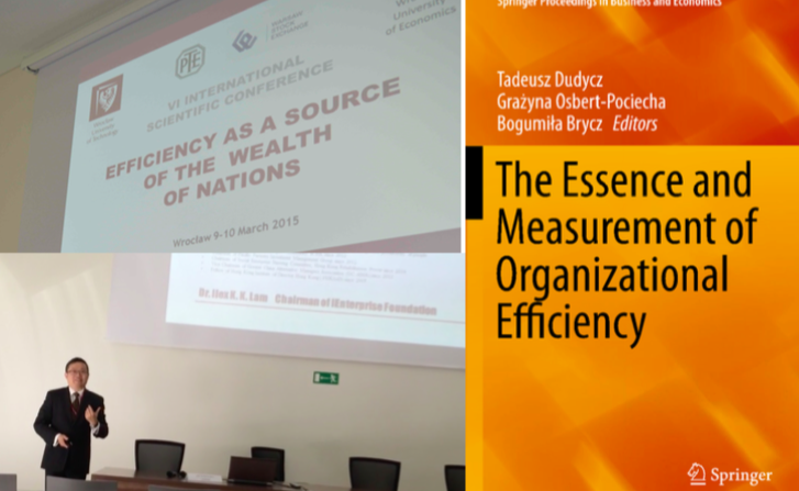 Present research paper at 6th International Scientific Conference in Europe