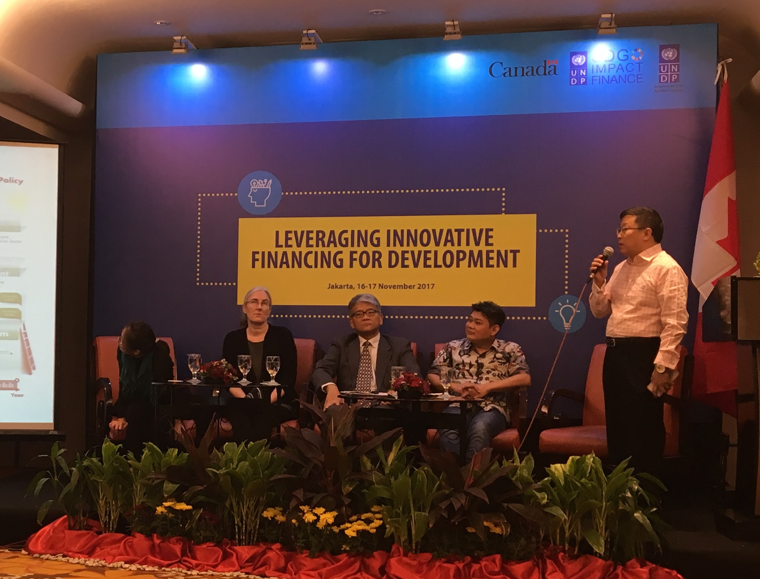 Speak for Developing Bankable Projects at UNDP Asia Pacific Conference
