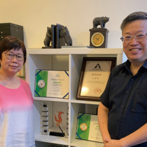 Dr. Ilex Lam and Director Iris Wong